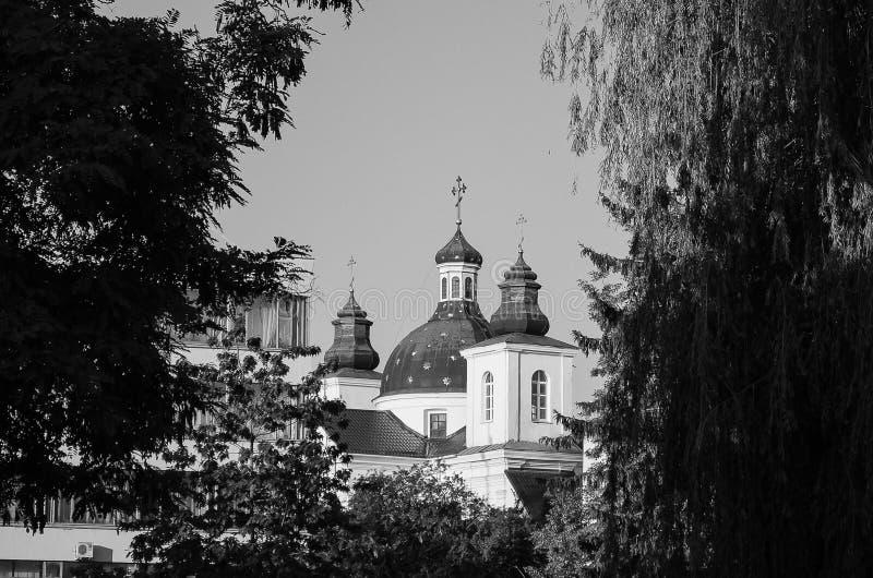 Arquitetura da cidade, construções velhas, vistas foto de stock royalty free