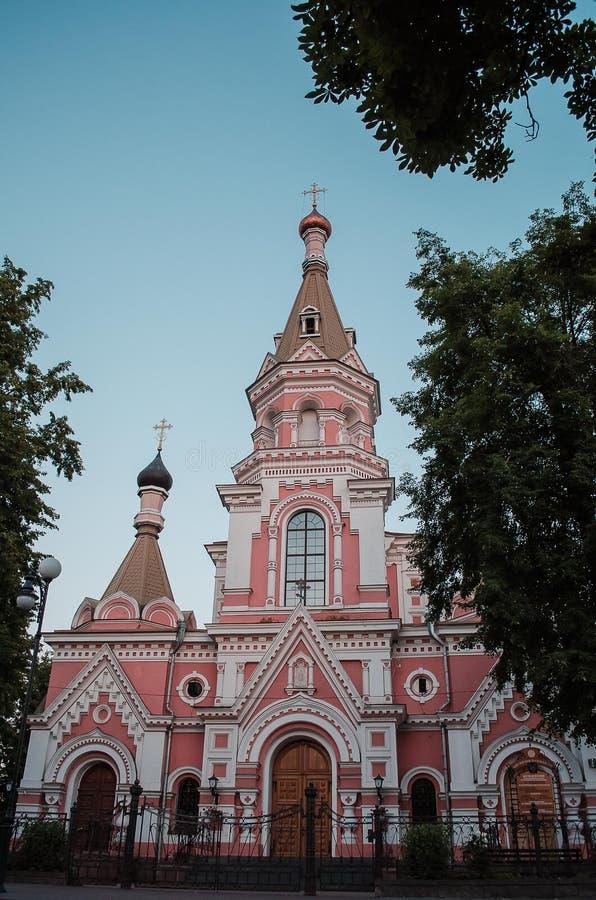 Arquitetura da cidade, construções velhas, vistas fotos de stock royalty free