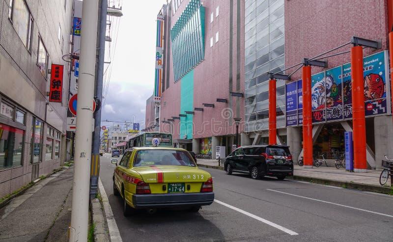 Arquitetura da cidade de Aomori, Japão imagens de stock royalty free