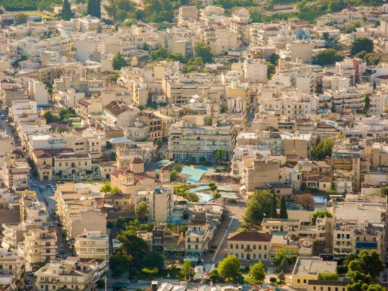 A arquitetura da cidade de Argos foto de stock royalty free