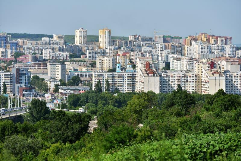 Arquitetura da cidade de Belgorod, Rússia imagens de stock