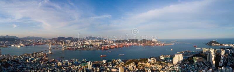Arquitetura da cidade de Busan fotos de stock royalty free