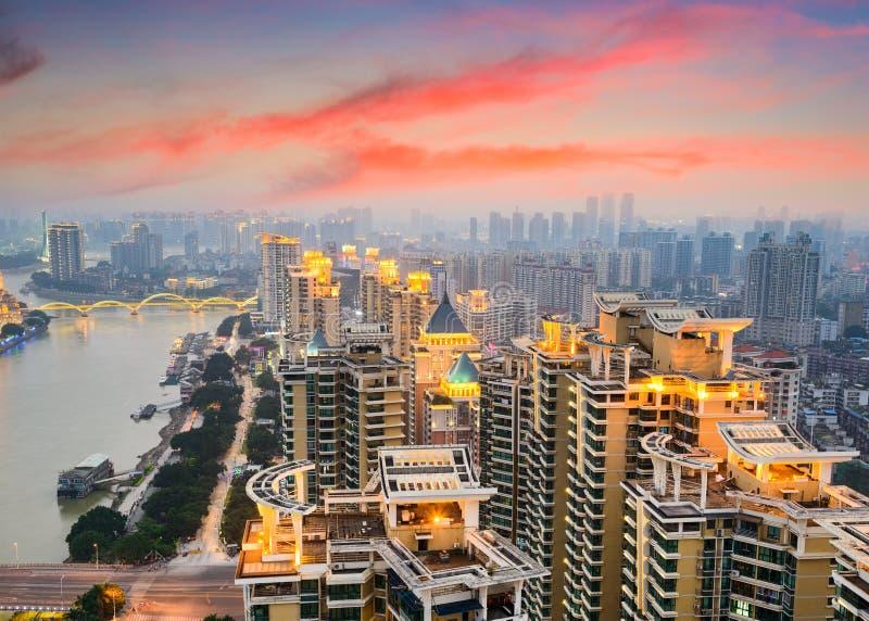 Arquitetura da cidade de Fuzhou China foto de stock royalty free