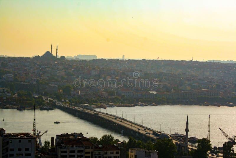Arquitetura da cidade de Istambul imagens de stock royalty free