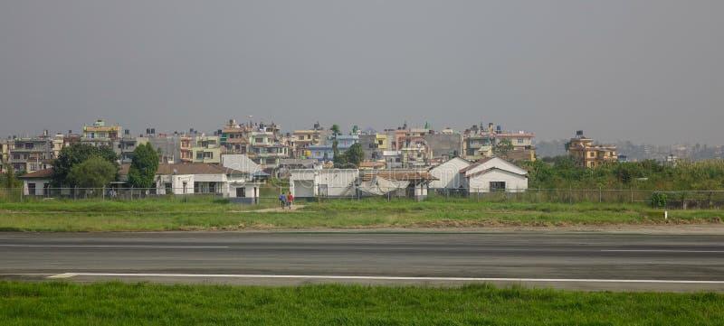 Arquitetura da cidade de Kathmandu, Nepal imagens de stock royalty free