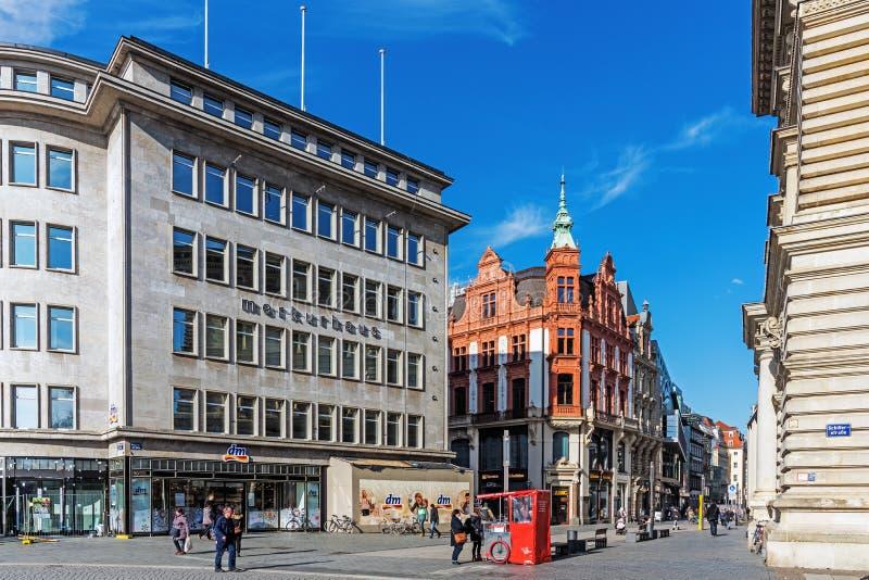 Arquitetura da cidade de Leipzig foto de stock royalty free