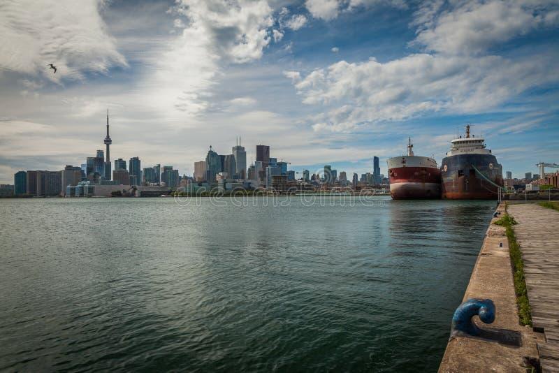 Arquitetura da cidade de Toronto em Canadá imagem de stock royalty free