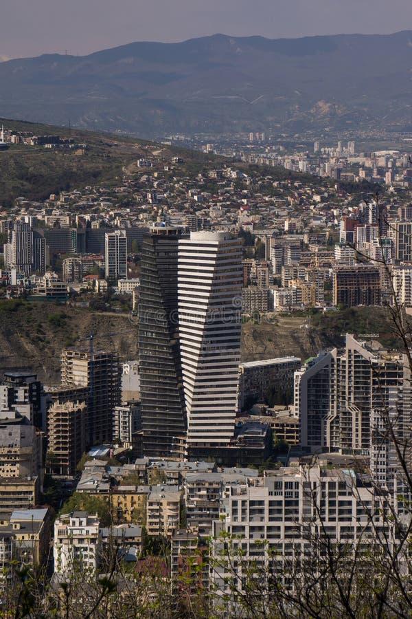 Arquitetura da cidade moderna em Geórgia fotos de stock