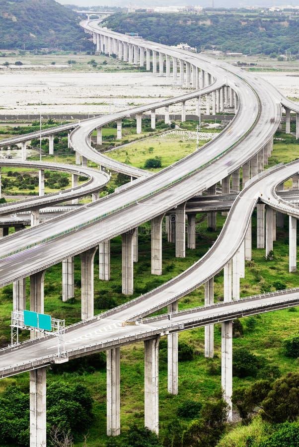 Arquitetura da estrada foto de stock
