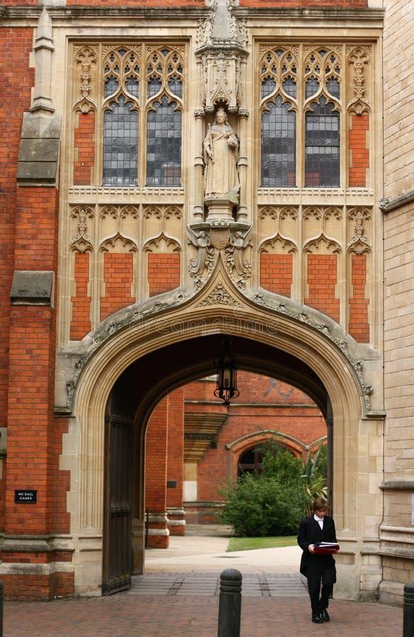 Arquitetura da faculdade de Eton imagem de stock