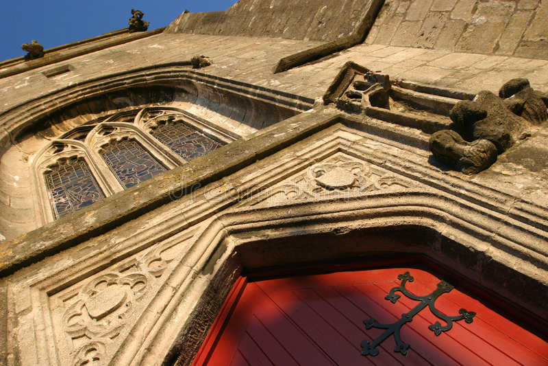 Arquitetura da igreja fotografia de stock royalty free