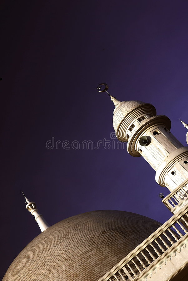 Arquitetura da mesquita imagens de stock