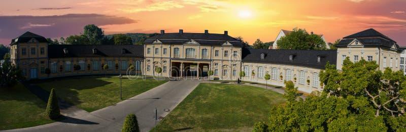 Arquitetura da opinião aérea de Gerencie Orangerie Summer imagem de stock royalty free