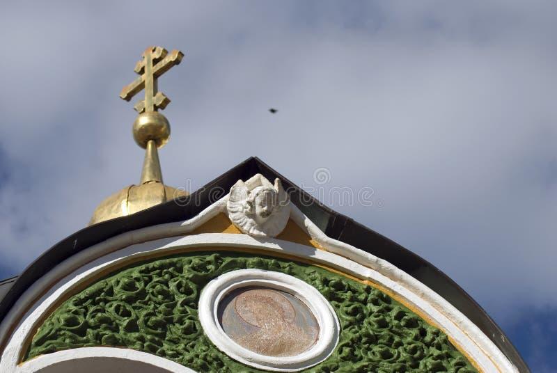 Arquitetura da trindade Sergius Lavra em Rússia fotografia de stock royalty free