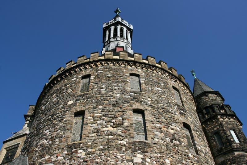 Arquitetura de Aix-la-Chapelle fotos de stock royalty free