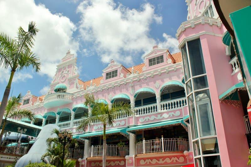 Arquitetura de Aruba fotografia de stock royalty free