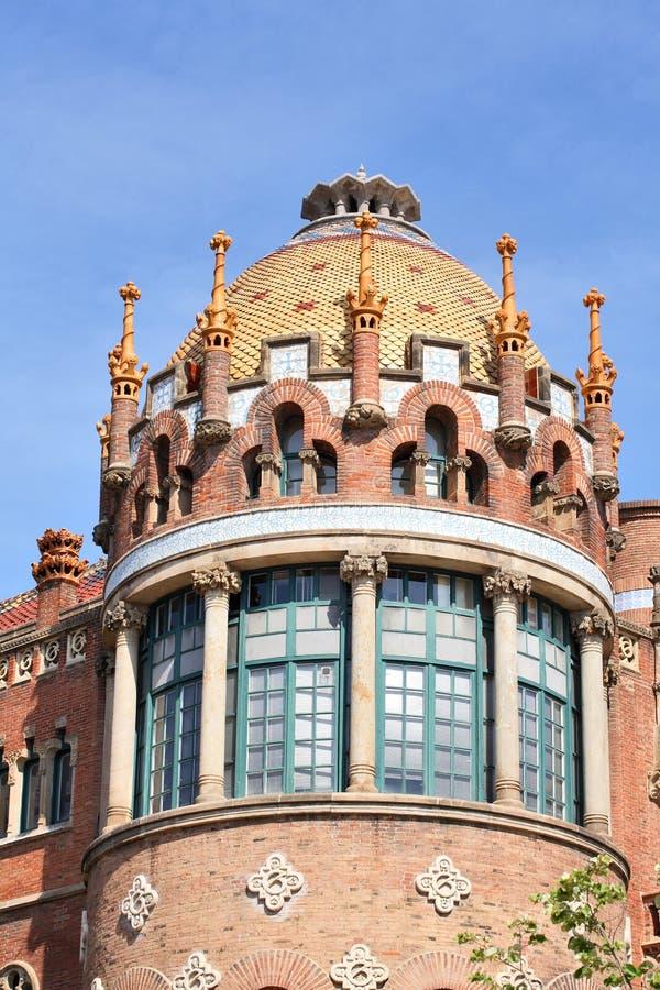 Arquitetura de Barcelona fotos de stock