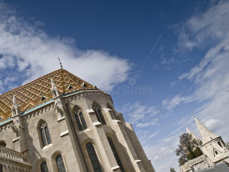 Arquitetura de Budapest foto de stock