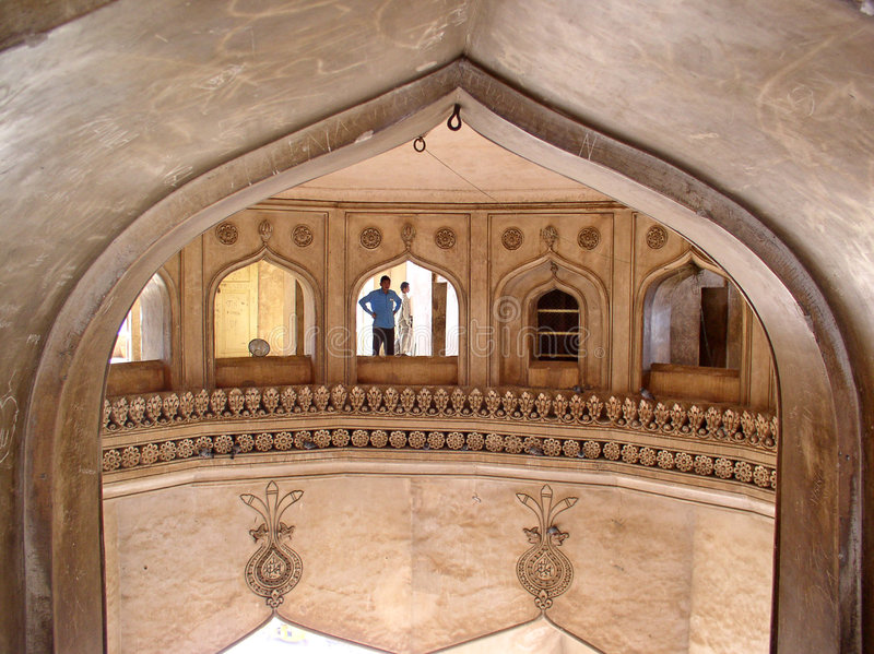 Arquitetura de Charminar fotografia de stock royalty free