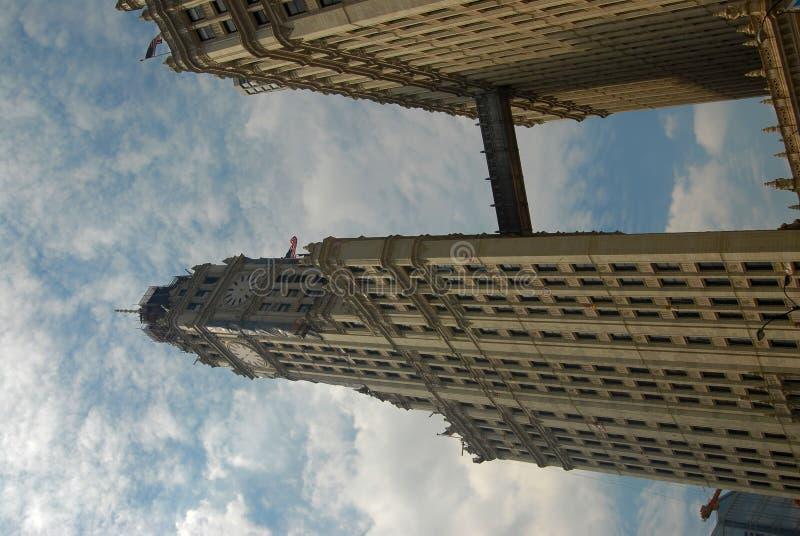 Arquitetura de Chicago imagem de stock