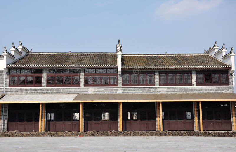 Arquitetura de China Huizhou imagem de stock royalty free