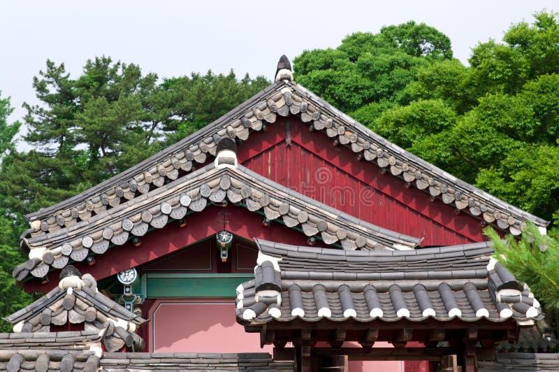 Arquitetura de Coreia do Sul fotos de stock