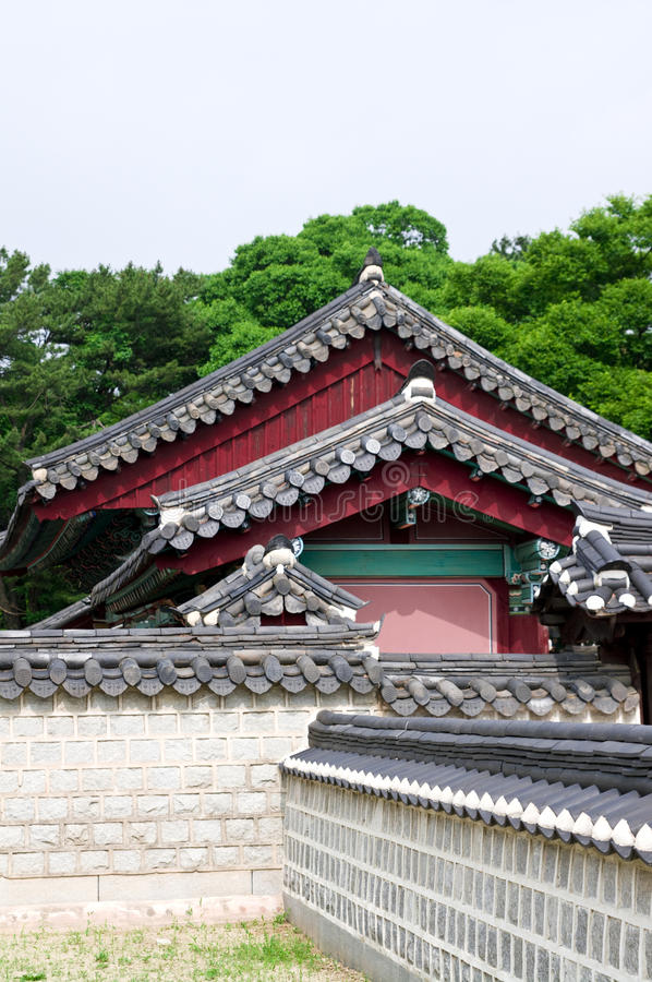 Arquitetura de Coreia do Sul fotografia de stock royalty free