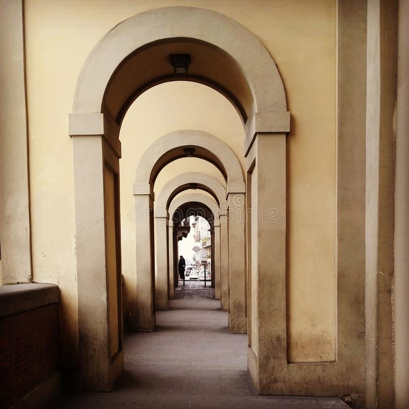 Arquitetura de Florença foto de stock