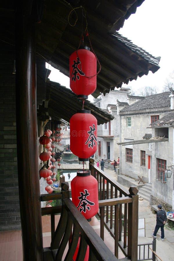 Arquitetura de Huizhou fotografia de stock