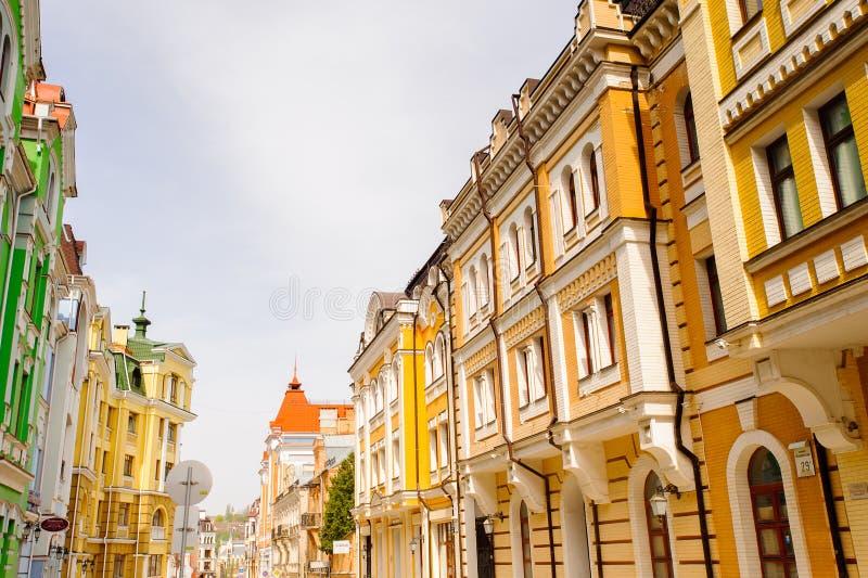 Arquitetura de Kiev, Ucrânia imagem de stock royalty free