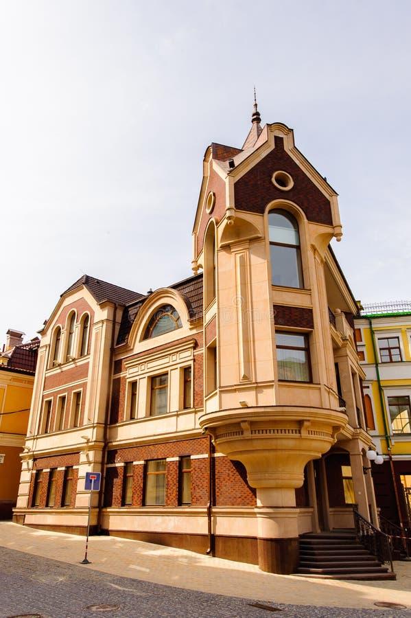 Arquitetura de Kiev, Ucrânia imagem de stock
