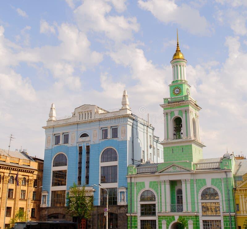 Arquitetura de Kiev, Ucrânia imagens de stock