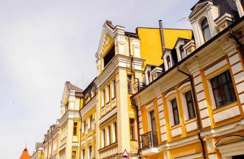 Arquitetura de Kiev, Ucrânia fotografia de stock