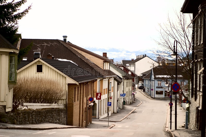 Arquitetura de Kongsberg fotos de stock