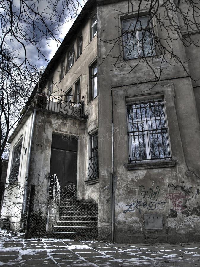 Arquitetura de Lvov velho foto de stock royalty free