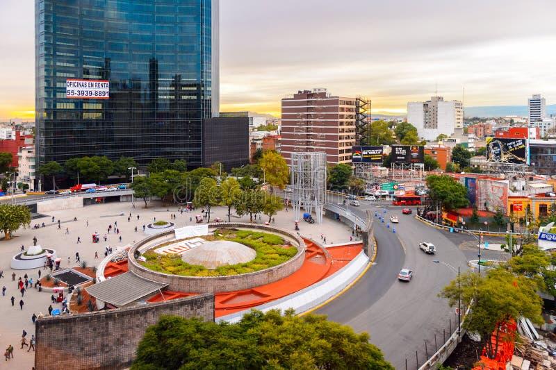 Arquitetura de México DF imagem de stock royalty free