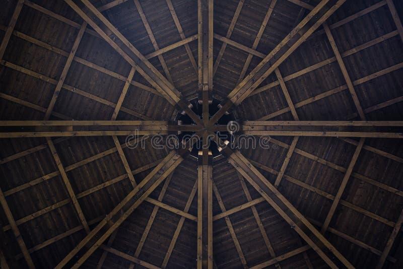 Arquitetura de madeira imagem de stock