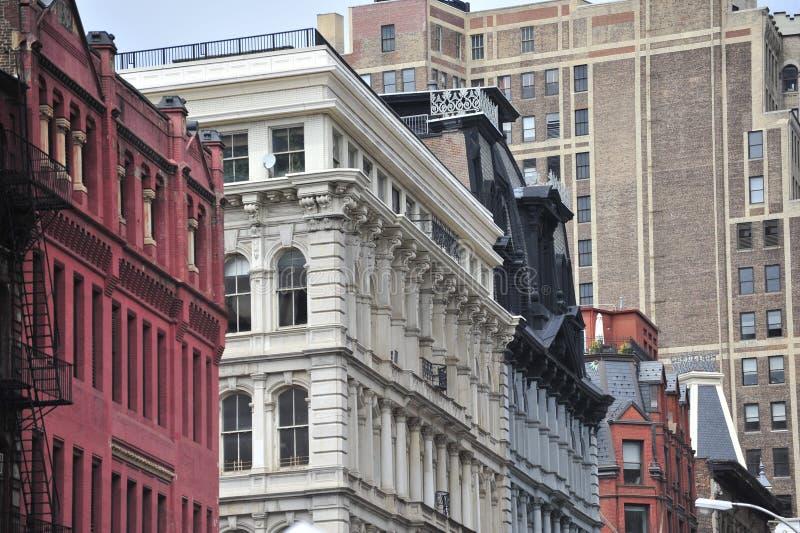 Arquitetura de New York fotografia de stock royalty free
