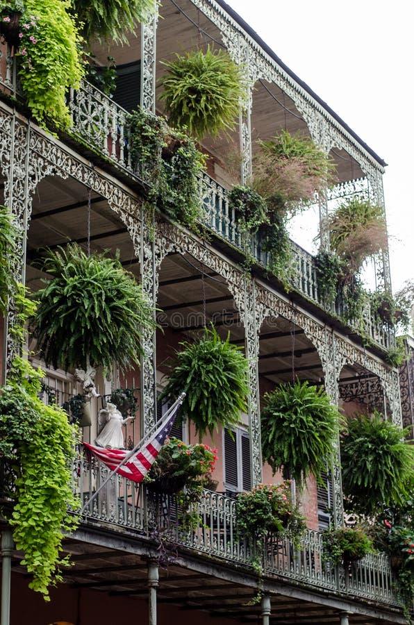 Arquitetura de Nova Orleães fotografia de stock royalty free