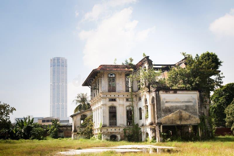 Arquitetura de Penang fotografia de stock