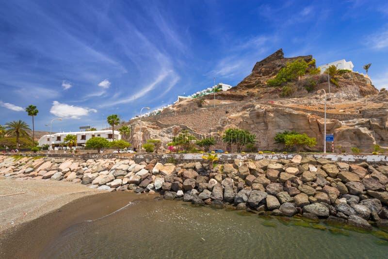 Arquitetura de Porto Rico de Gran Canaria imagem de stock royalty free