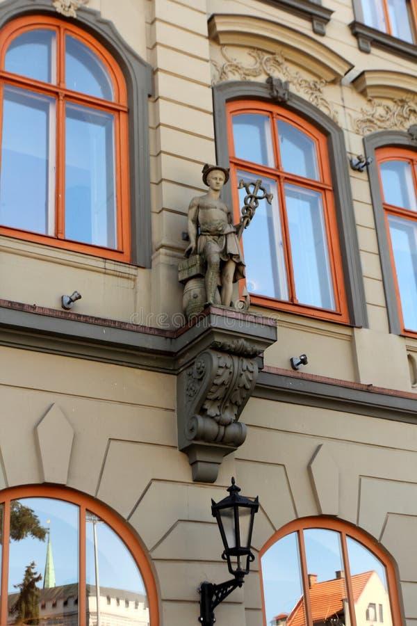 Arquitetura de Riga, Letónia fotografia de stock