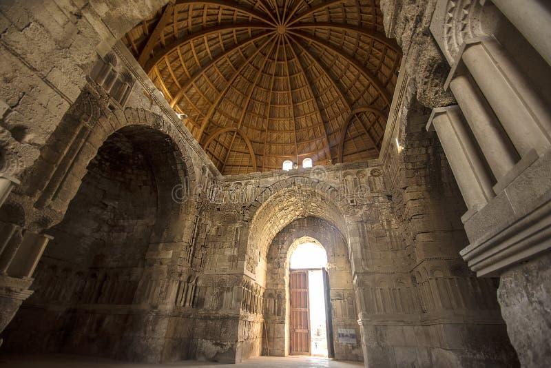 Arquitetura de romanos velha foto de stock