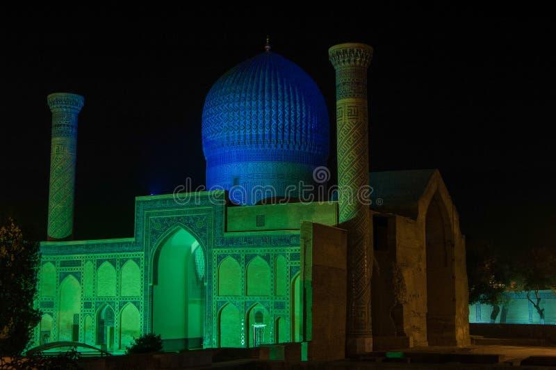 A arquitetura de Samarkand antigo imagem de stock royalty free