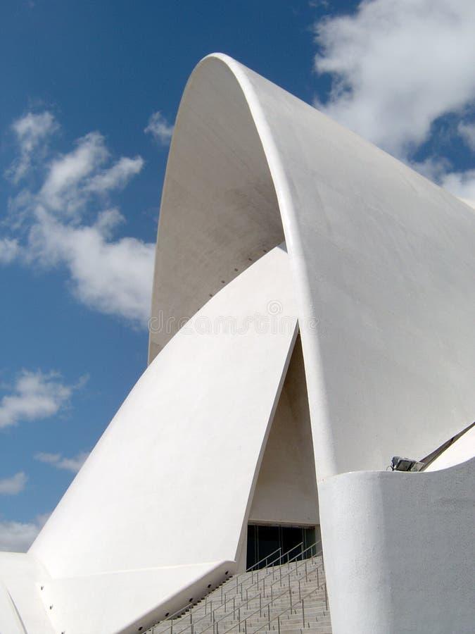 Arquitetura de Santa Cruz imagem de stock royalty free