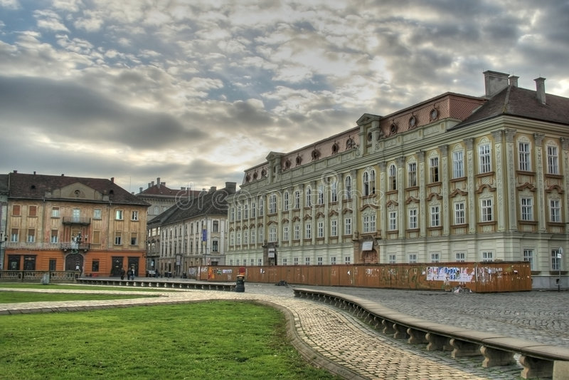 Arquitetura de Timisoara imagem de stock royalty free