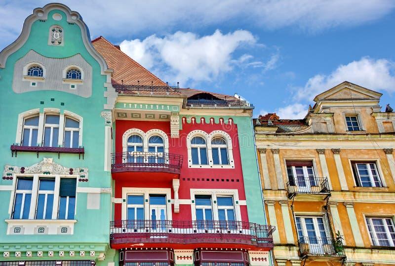 Arquitetura de Timisoara, Romênia imagens de stock royalty free