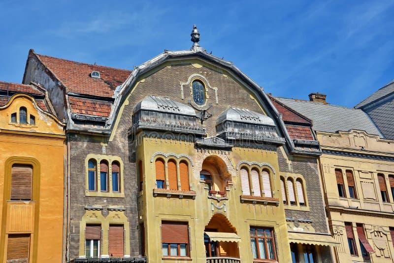 Arquitetura de Timisoara, Romênia foto de stock royalty free