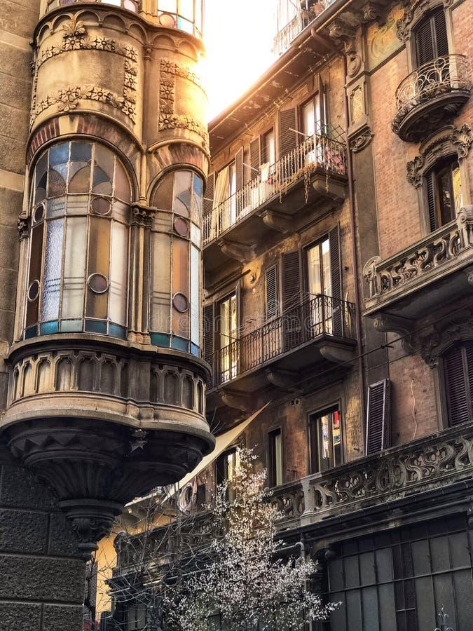 Arquitetura de Turin imagens de stock