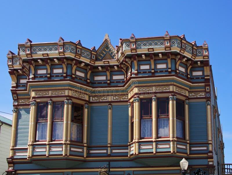Arquitetura de Victorian fotos de stock royalty free